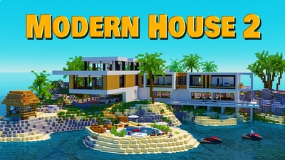 Modern House 2 on the Minecraft Marketplace by BBB Studios