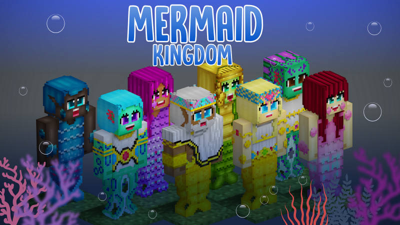 Mermaid Kingdom on the Minecraft Marketplace by BLOCKLAB Studios