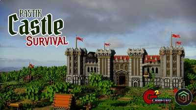 Pastik Castle Survival on the Minecraft Marketplace by G2Crafted