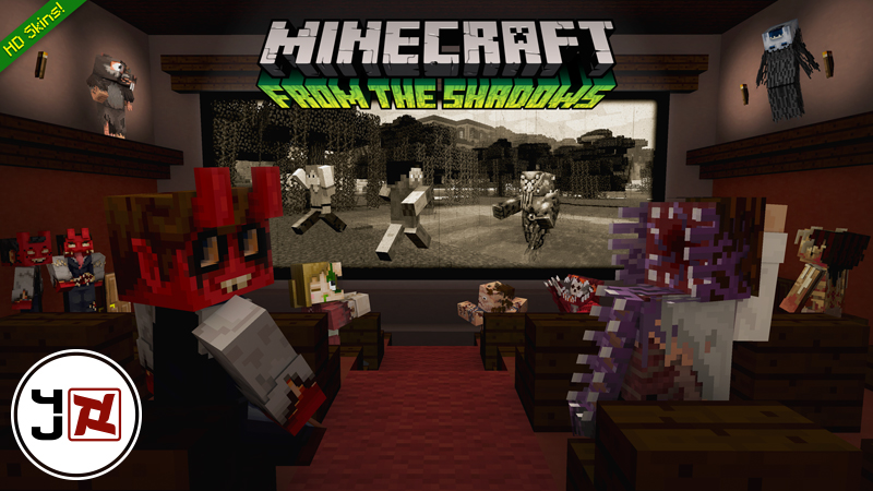 From the Shadows Skin Pack on the Minecraft Marketplace by Minecraft
