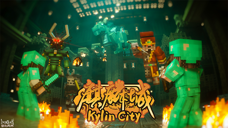 Kylin City on the Minecraft Marketplace by LinsCraft