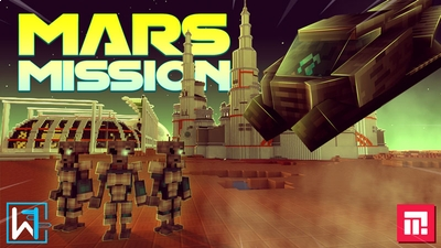 Mars Mission on the Minecraft Marketplace by Waypoint Studios