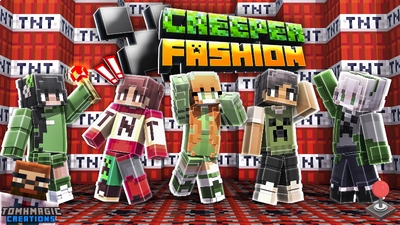 Creeper Fashion on the Minecraft Marketplace by Tomhmagic Creations