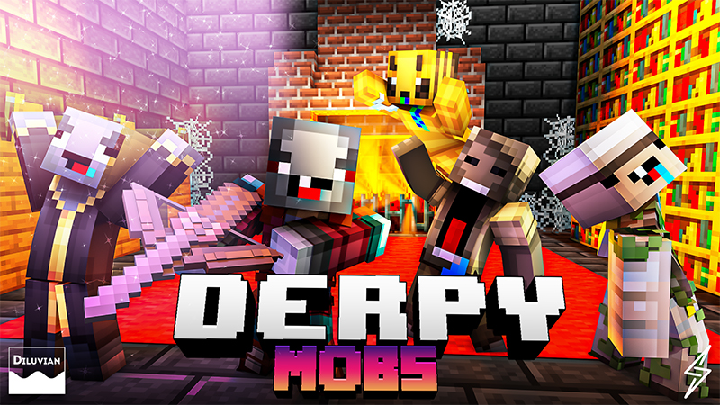 Derpy Mobs on the Minecraft Marketplace by Diluvian