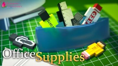 Office Supplies on the Minecraft Marketplace by Shaliquinn's Schematics