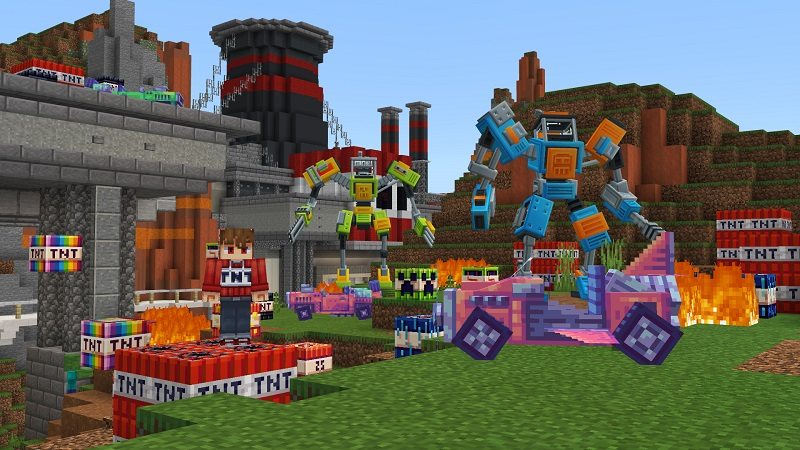 More TNT on the Minecraft Marketplace by BBB Studios