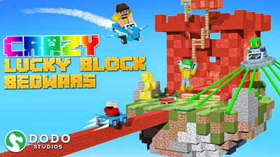 Crazy Lucky Block Bed Wars on the Minecraft Marketplace by Dodo Studios
