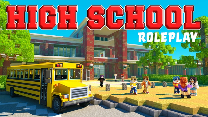 High School Roleplay on the Minecraft Marketplace by BBB Studios