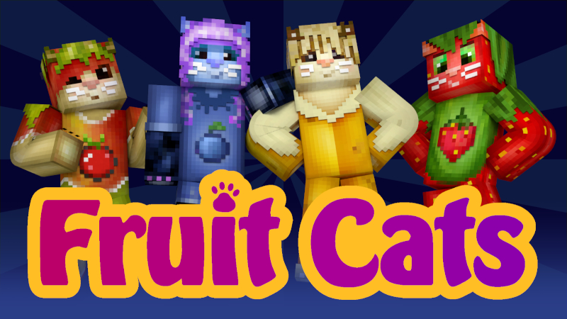 HD Fruit Cats on the Minecraft Marketplace by Cynosia