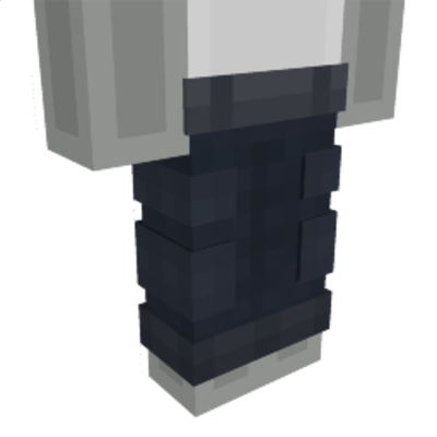 Black Cargo Pants on the Minecraft Marketplace by Impulse