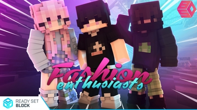 Fashion Enthusiasts on the Minecraft Marketplace by Ready, Set, Block!
