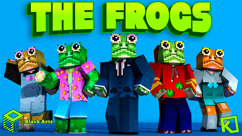 The Frogs on the Minecraft Marketplace by Black Arts Studio