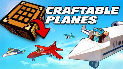 Craftable Planes on the Minecraft Marketplace by Lifeboat