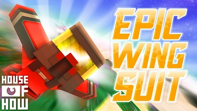 Epic Wing Suit on the Minecraft Marketplace by House of How