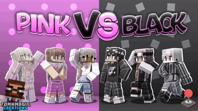 Pink vs Black Fashion on the Minecraft Marketplace by Tomhmagic Creations