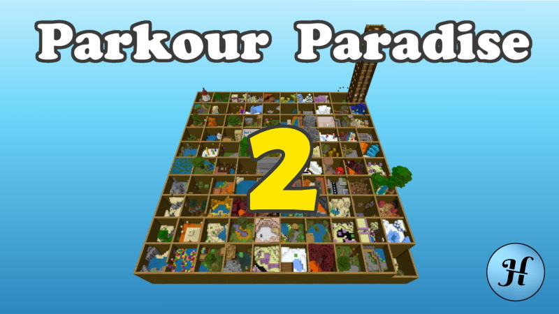 Parkour Paradise 2 on the Minecraft Marketplace by Hielke Maps