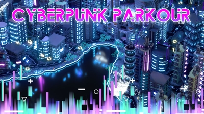 Cyberpunk Parkour on the Minecraft Marketplace by BLOCKLAB Studios