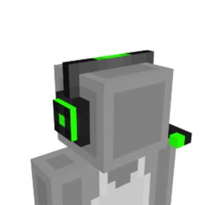 Gaming Headset on the Minecraft Marketplace by Razzleberries