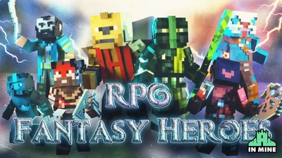 RPG Fantasy Heroes on the Minecraft Marketplace by In Mine