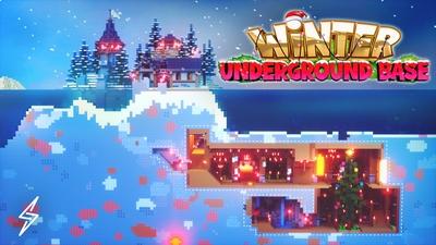 Winter Underground Base on the Minecraft Marketplace by Senior Studios