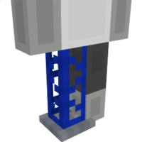 Blue Crane Base Leg on the Minecraft Marketplace by Jigarbov Productions