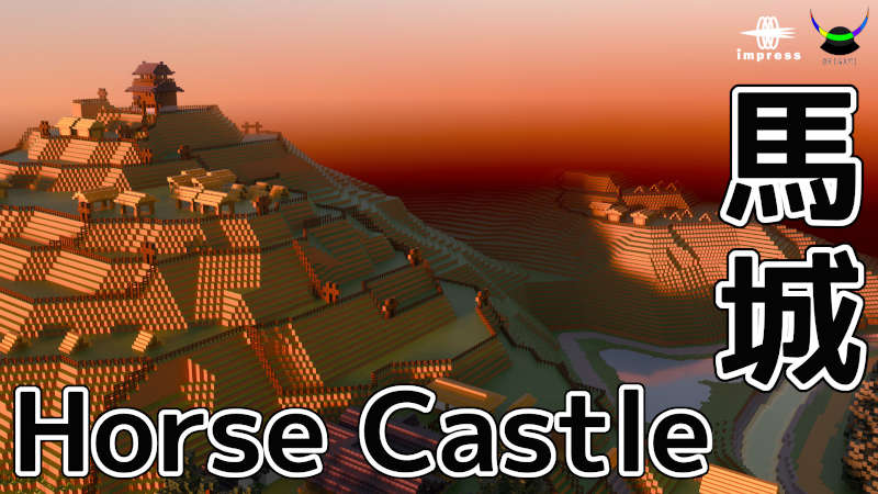 Horse Castle on the Minecraft Marketplace by Impress