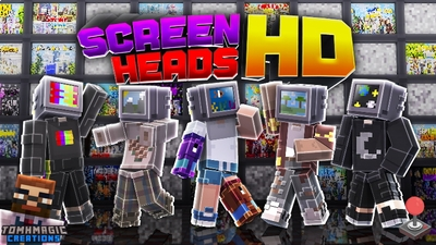 Screen Heads HD on the Minecraft Marketplace by Tomhmagic Creations