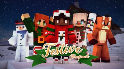 Festive Skin Pack on the Minecraft Marketplace by Galaxite