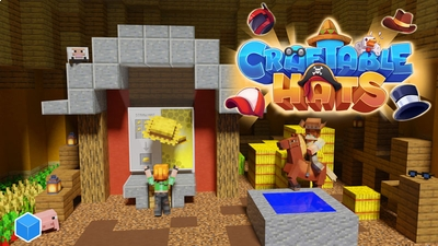 Craftable Hats on the Minecraft Marketplace by CubeCraft Games
