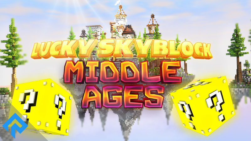 Lucky Skyblock  Middle Ages on the Minecraft Marketplace by RareLoot
