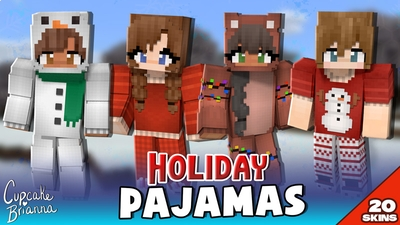 Holiday Pajamas HD Skin Pack on the Minecraft Marketplace by CupcakeBrianna