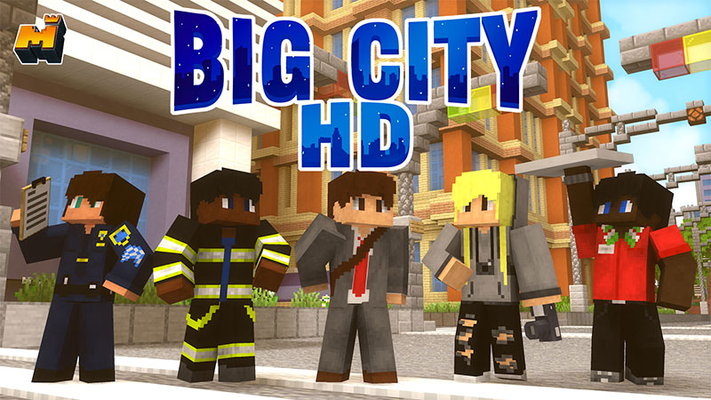 Big City HD on the Minecraft Marketplace by Mineplex