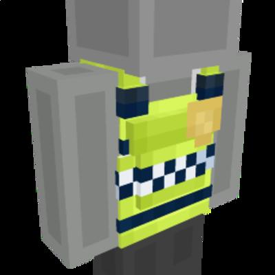 Police Vest on the Minecraft Marketplace by GoE-Craft