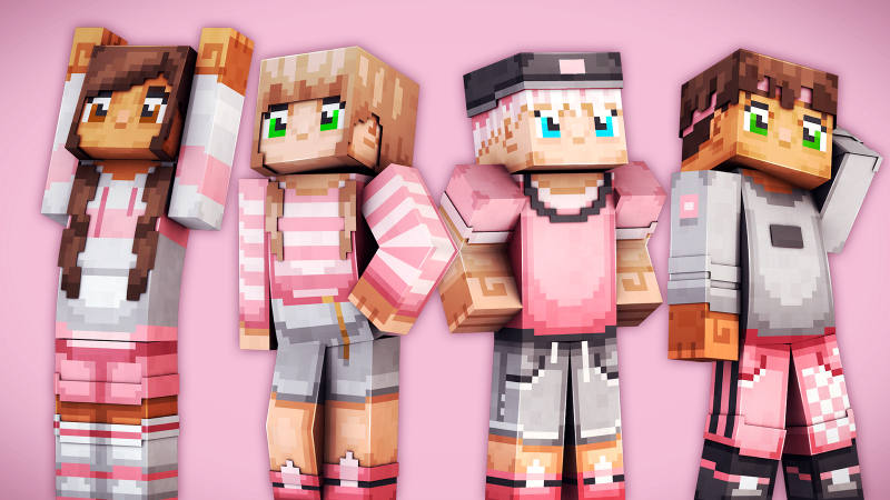 Pink Teen Fashion on the Minecraft Marketplace by 57Digital