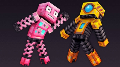 Spring Robots on the Minecraft Marketplace by 57Digital