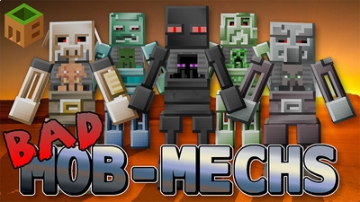 Bad Mob Mechs  on the Minecraft Marketplace by MobBlocks