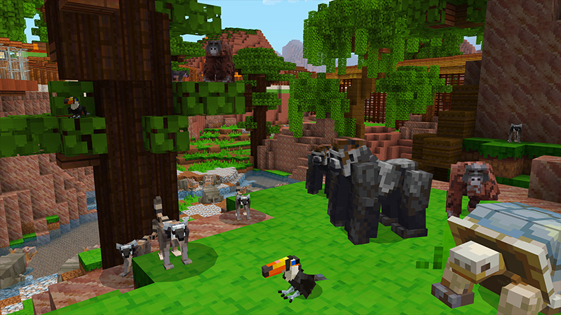 MINE ZOO 2 on the Minecraft Marketplace by Cyclone