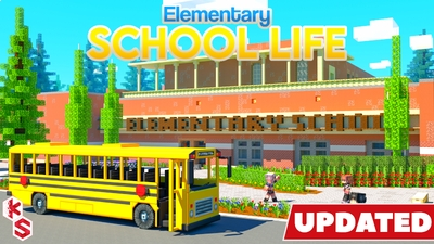 Elementary School Life on the Minecraft Marketplace by Kreatik Studios