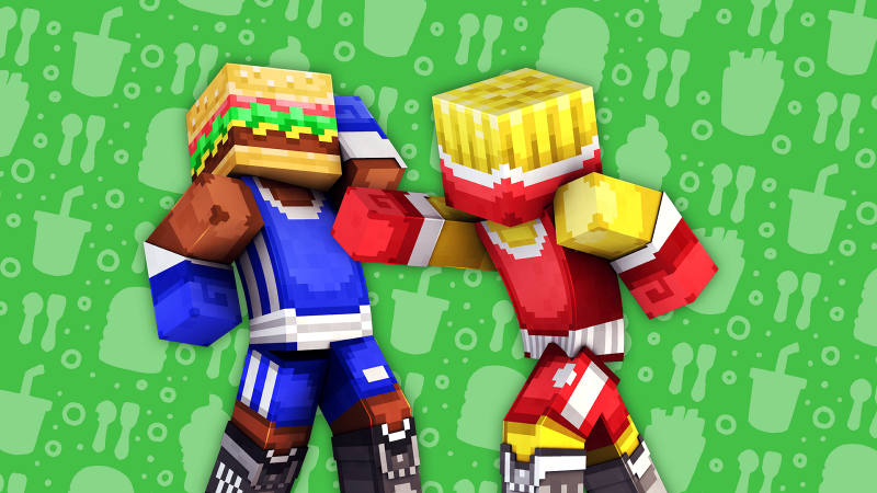 Food Fight on the Minecraft Marketplace by 57Digital