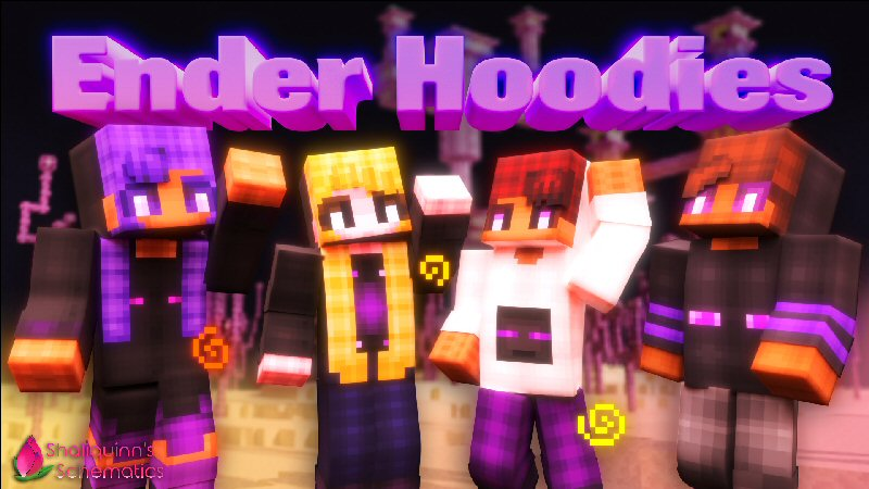 Ender Hoodies on the Minecraft Marketplace by Shaliquinn's Schematics