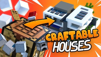 Craftable Houses on the Minecraft Marketplace by Cubed Creations