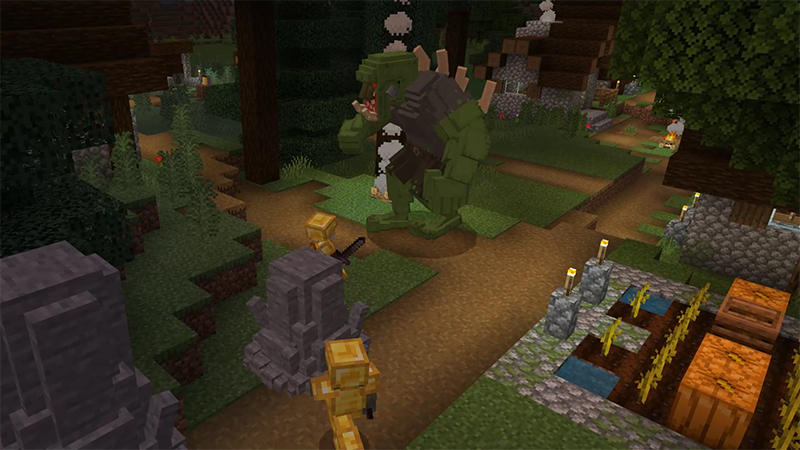 Dragon Castle Survival on the Minecraft Marketplace by Mythicus
