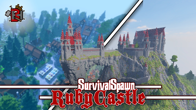Ruby Castle on the Minecraft Marketplace by Builders Horizon