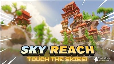 Sky Reach on the Minecraft Marketplace by Shaliquinn's Schematics