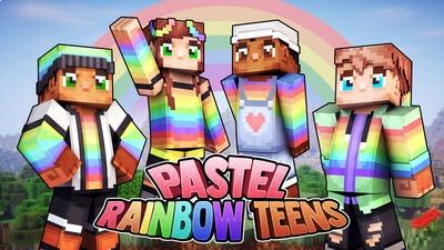 Pastel Rainbow Teens on the Minecraft Marketplace by 57Digital