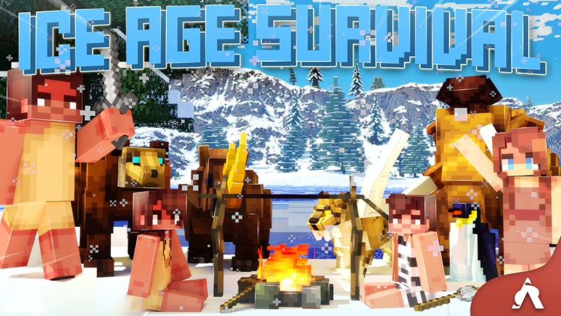 Ice Age Survival on the Minecraft Marketplace by Atheris Games