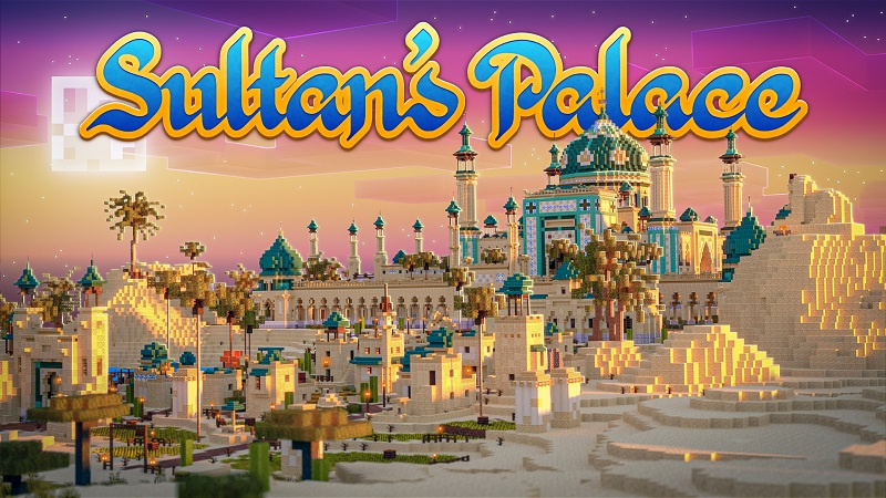 Sultans Palace on the Minecraft Marketplace by Nitric Concepts