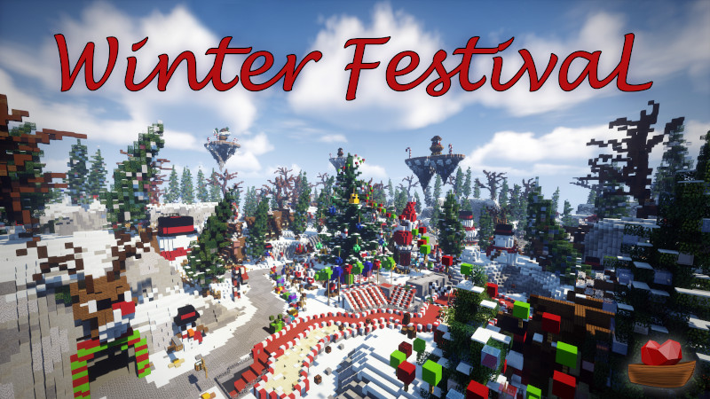Winter Festival on the Minecraft Marketplace by Lifeboat