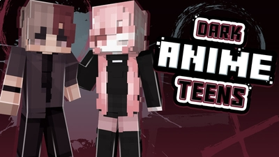 Dark Anime Teens on the Minecraft Marketplace by Ninja Squirrel Gaming