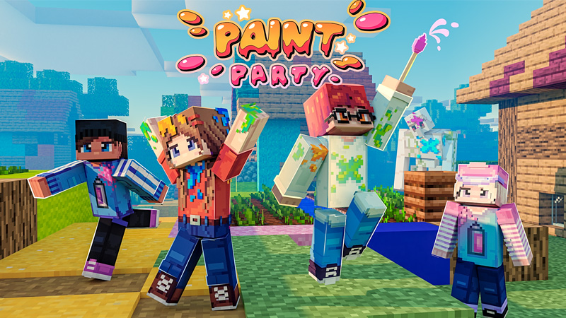 Paint Party on the Minecraft Marketplace by Odyssey Builds